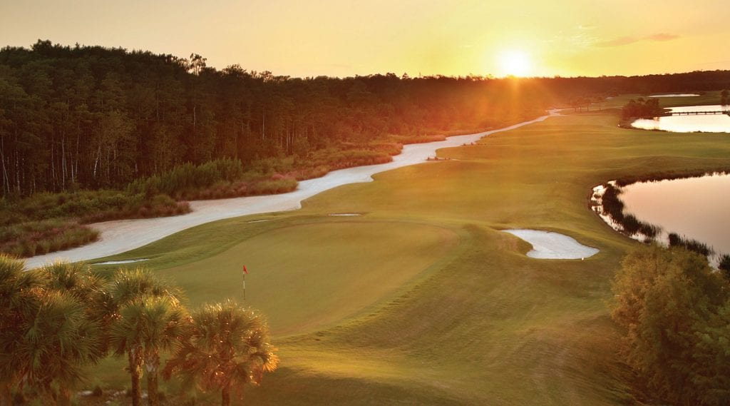 Babcock National will be similar in concept to Lennar's Bonita National in Bonita Springs. Both courses are designed by Gordon Lewis. BABCOCK RANCH TELEGRAPH COURTESY IMAGE