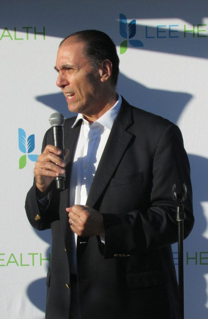 Dr. Antonucci is the CEO & President of Lee Health.